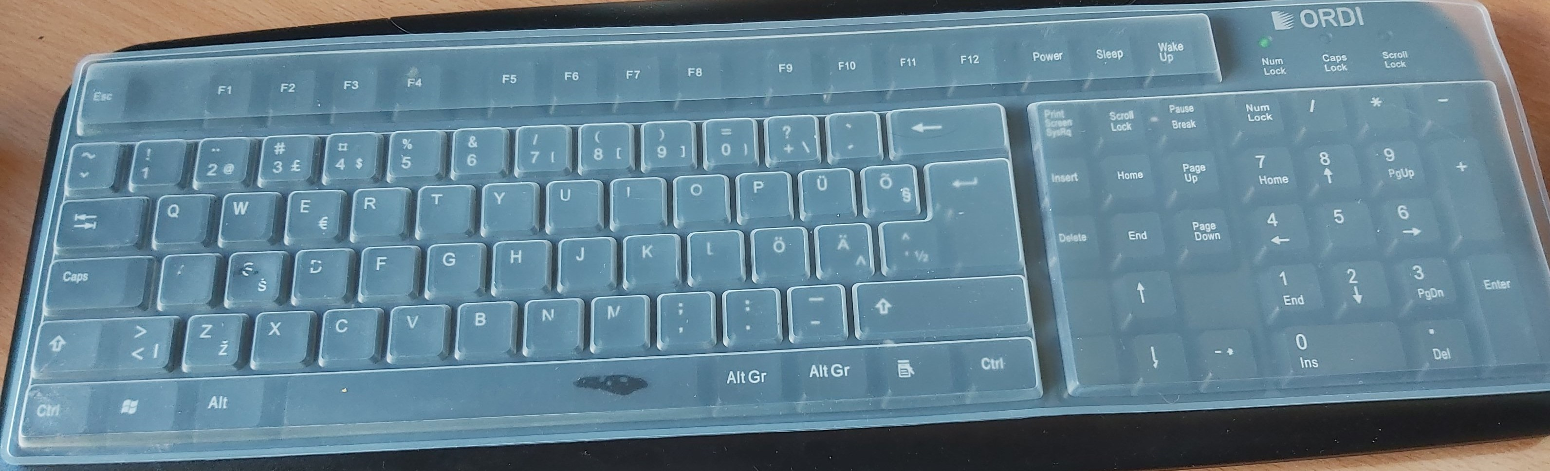 Silikoonist klaviatuurikatted (10tk)
